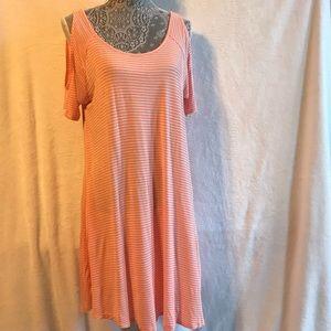 RHAPSODIELLE summer cold shoulder dress